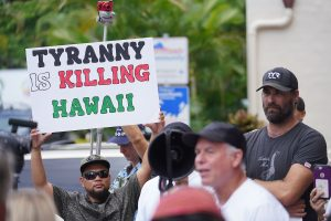 Who's Behind This Increasingly Vocal Hawaii Group Opposing Covid-19 Mandates?
