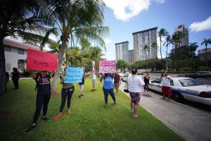 Covid Vaccine Opponents Try To Drown Out The Mayor At A Honolulu City Council Meeting