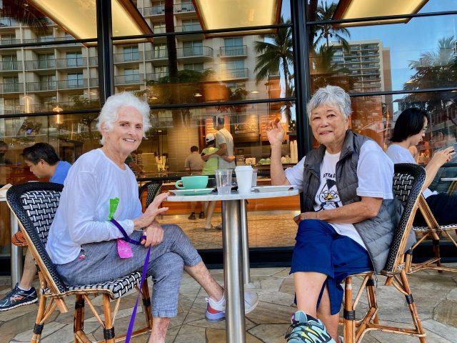 retired Circuit Court judge Marie Milks and retired Honolulu attorney Lyn Flanigan