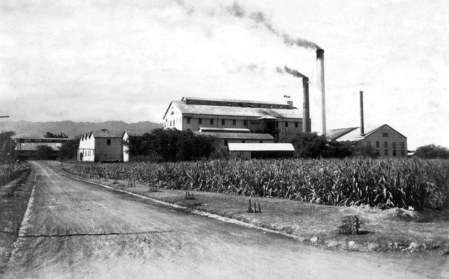 Ewa Villages Plantation Company Mill 1940s