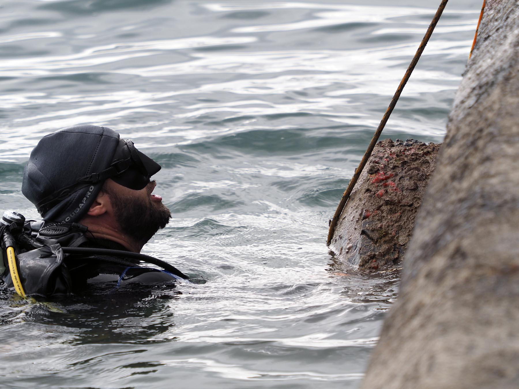 <p>Fifteen divers from shops around Oahu and 11 ground crew members on the dock participated in the cleanup.</p>
