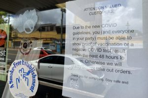 'A Bit Humbug': Honolulu Vax Mandates Roll Out For Businesses And Customers