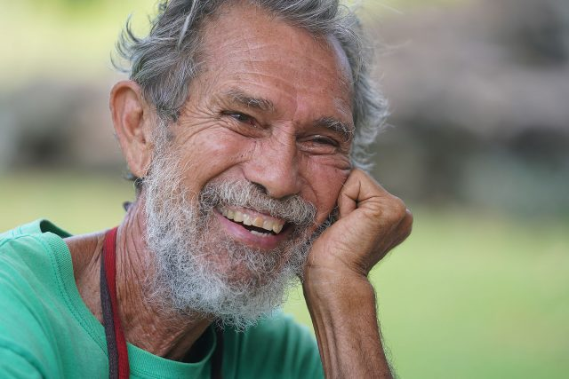 Molokai resident Walter Ritte.