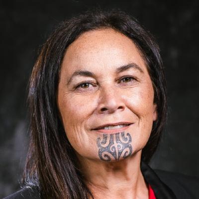 New Zealand Maori Party Co-leaderDebbie Ngarewa Packer