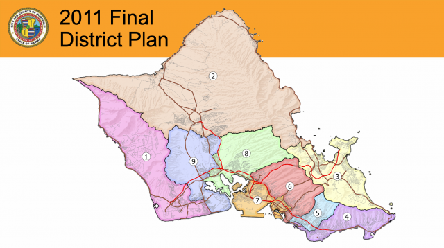 The Oahu Reapportionment Commission will decide how to redraw nine district boundaries.