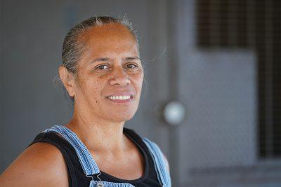 Portrait of Waianae resident Jan Makepa.