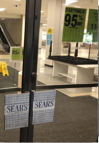 Empty Sears Pearlridge