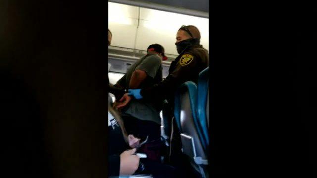 Man Arrested On Plane Flight Attendant Assault