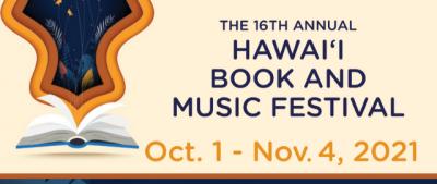 PSA Hawaii Book and Music Festival Oct. 1 – Nov. 4