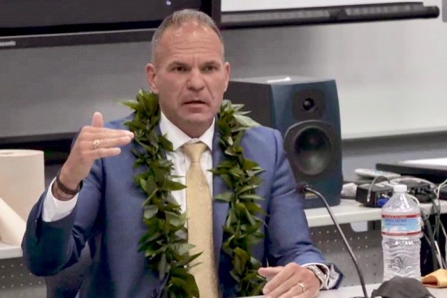 Las Vegas police captain John Pelletier will advance as the final candidate to lead the Maui Police Department.