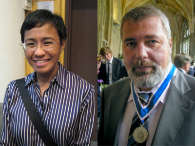 Why It Matters That Journalists Won The Nobel Peace Prize
