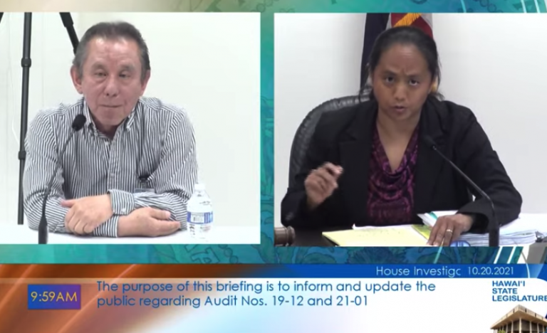 Hawaii House Panel Probes Potential 'Irregularities' By The State Auditor